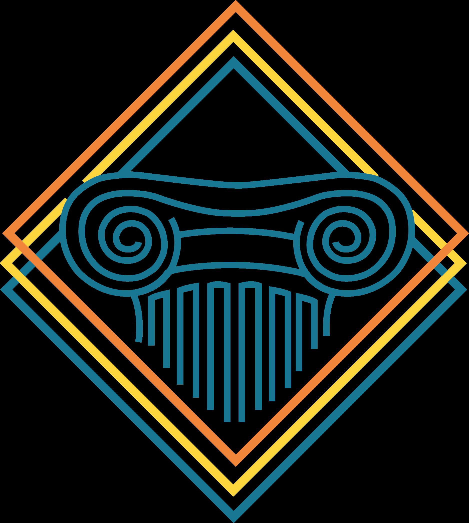 Page d'accueil. Logo d'Archéologos.